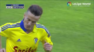 Video Gol Pertandingan Cadiz vs Atletico Madrid