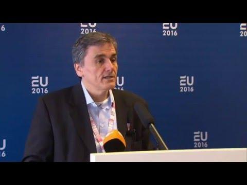 #Greece: Euclid Tsakalotos sums up outcome of Eurogroup meeting