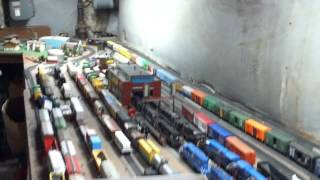 my model railroad layout part1