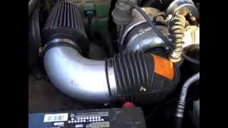 k n air filter installation for a 6 5 diesel