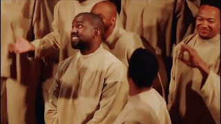 """Kanye West Sunday Service - """"hallelujah, salvation, and glory"""" (Live From Paris, France)"""