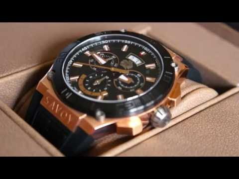 Savoy Watch Metropolitan unboxing