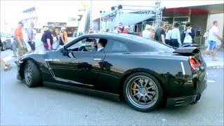 GODZILLA 850HP Nissan GTR 35 Acceleration Sound !