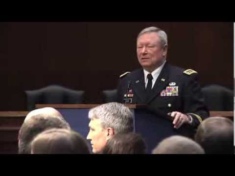 National Guard Bureau Chief Speaks at Senate National Guard Caucus