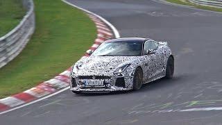 [SPYVIDEO] 2016 Jaguar F-Type SVR Coupe Testing HARD on the Nürburgring!