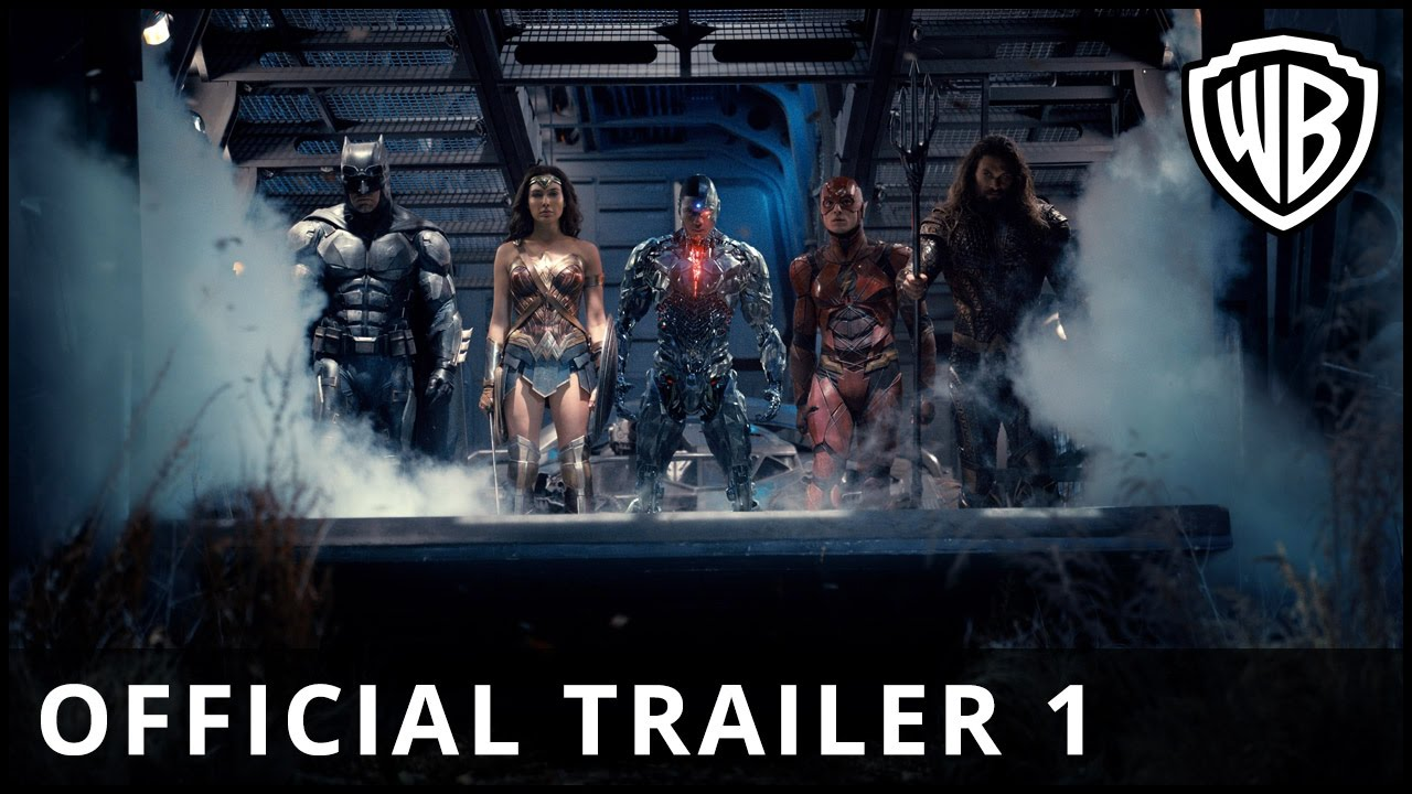 Justice League - Official Trailer 1 - Warner Bros. UK - YouTube