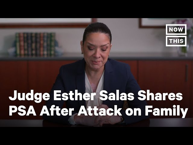 Federal Judge Speaks Out After Losing Son in Deadly Attack | NowThis
