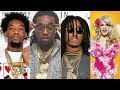 Migos gets BACKLASH over Drag Queens - Katy Perry Bon Appetit SNL Performance