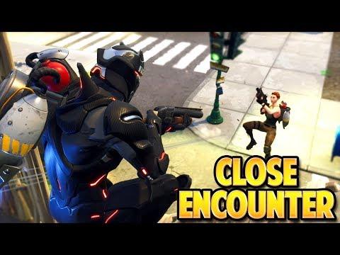 NEW CLOSE ENCOUNTERS FORTNITE GAMEPLAY! SOLO vs SQUADS WIN!