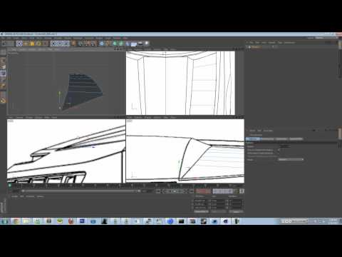 How to Model A Car In Cinema 4D | Polygon Modelling | Camaro 2008