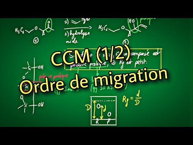 CCM (1/2) : Ordre de migration