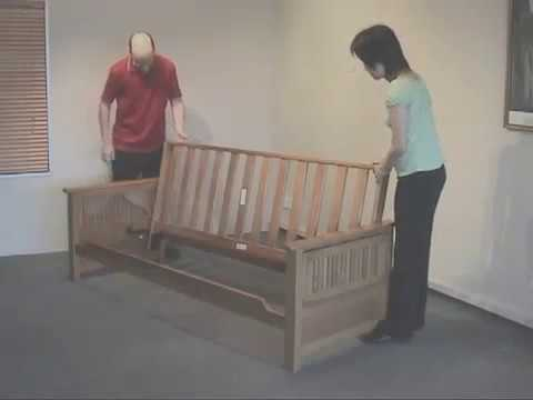 Z Furniture Alexandria Virginia: Futon Instructional Videos