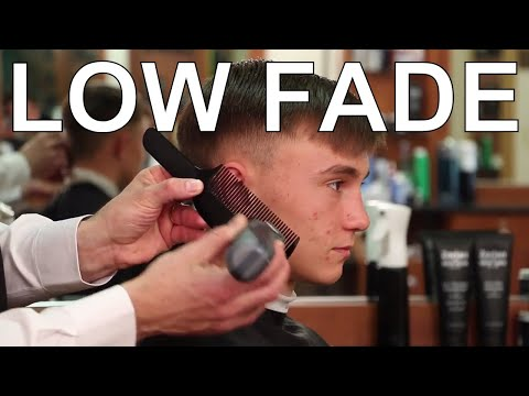 combover-with-low-fade-hairstyle---1940's-side-part-hairstyle---greg-zorian-haircut-tutorial