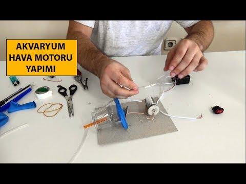 Hava Motoru Yapımı | Akvaryum