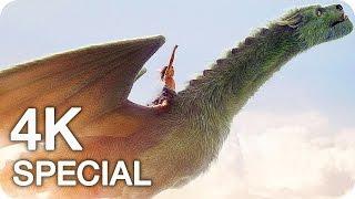 PETE'S DRAGON Clips, Featurettes & Trailer (2016)