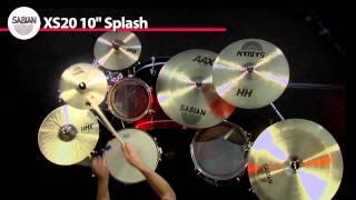 "SABIAN 10"" XS20 Splash Video Demo"