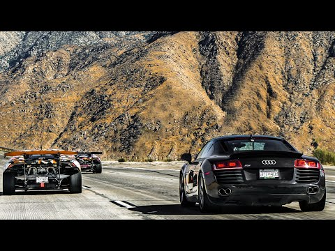 DAVES FIRST EXOTIC CAR RALLY IN HIS NEW AUDI R8!