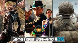 Игровые Новости — Game News Weekend #216 | (L.A. Noire remastered, Code Vein, CoD WW2, BIOMUTANT)