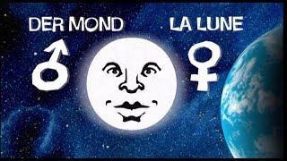 Warum ist das Wort Mond im Deutschen männlich? | Karambolage | ARTE