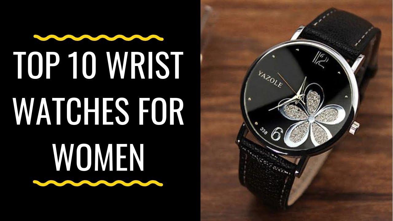 a77ecdea09466 Top 10 Wrist Watches For women | Best Watches For Girls |Ladies Watches  Brands