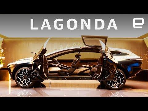 Aston Martin Lagonda First Look at Geneva Motor Show 2019