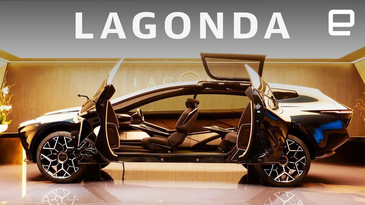 Aston Martin Lagonda First Look At Geneva Motor Show 2019 Youtube