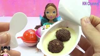 ChiChi ToysReview TV - Trò Chơi bóc trứng chocolate bất ngờ