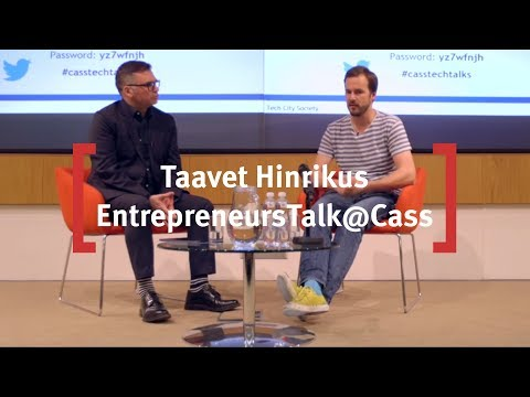 TechTalks@Cass - Money without Borders: The TransferWise Story. (Full Interview).