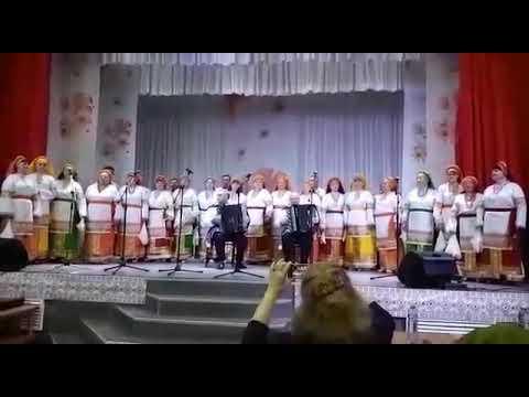Сводный хор сел Красное и Ариничево. Ленинск-кузнецкого района. Кемеровская область.