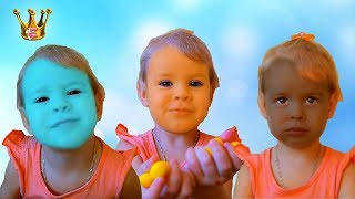 Learn colors with Color FACES JOHNY JOHNY Yes Papa I Nursery Rhymes and Kids Songs for Children