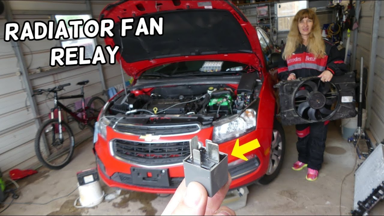 Chevrolet Cruze Radiator Fan Relay Location Replacement