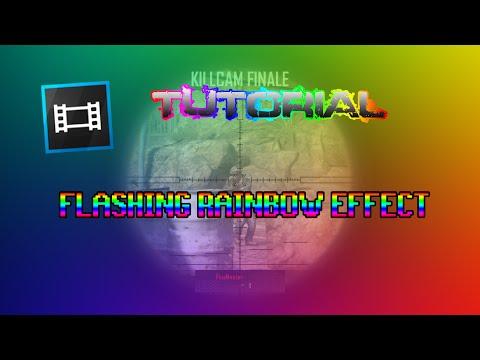 Tutorial Sony Vegas : Flashing Rainbow Effect