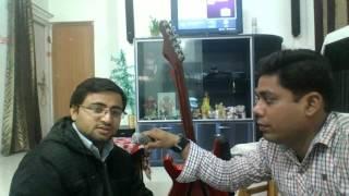 Achyutam keshavam krishna damodaram Practice 1 for Sri Radhe Krishna
