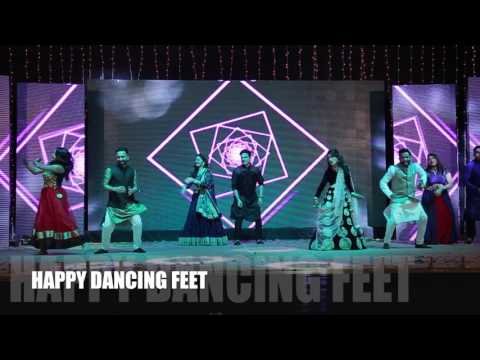 Iski Uski | Happy Dancing Feet | Bride's Sister & Friends | Sangeet | Indian Wedding Dance