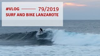 surf and bike in lanzarote