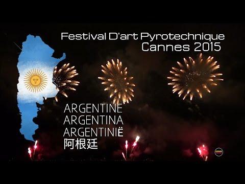 Festival D'art Pyrotechnique Cannes 2015: JUPITER (Argentina) - International Contest [1080p 50fps]