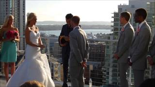 Official Anthony Eden and Makenzie Morgan Wedding Video at the Ultimate Skybox in San Diego
