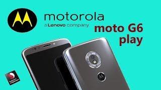 Motorola Moto G6 Play Rumoured to Feature 4000 mAh Battery and 5.7-inch 18:9 Display