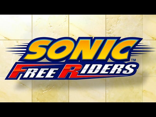 Sonic Free Riders - All Cutscenes (1080p/60fps)