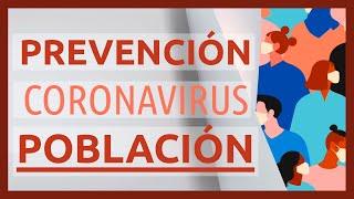 💧 Medidas de PREVENCIÓN del #CORONAVIRUS para NIÑOS y toda la POBLACIÓN