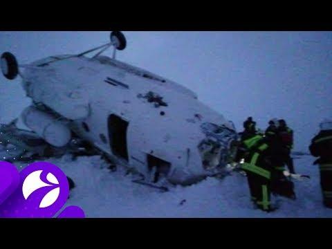 В Ямальском районе из-за жёсткой посадки вертолёта погибли 2 человека. Время Ямала.
