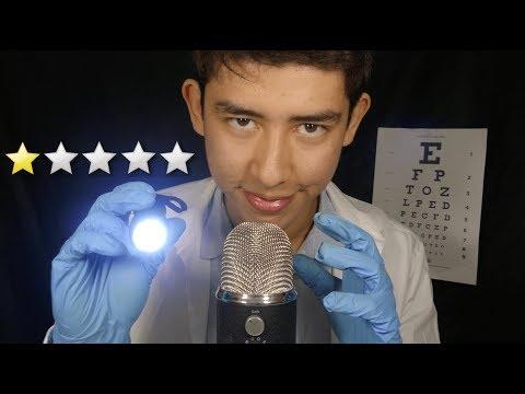 ASMR worst reviewed doctor