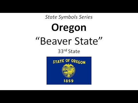 State Symbols Series - Oregon