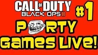 Black Ops 2: Party Games Live #1 - Gungame