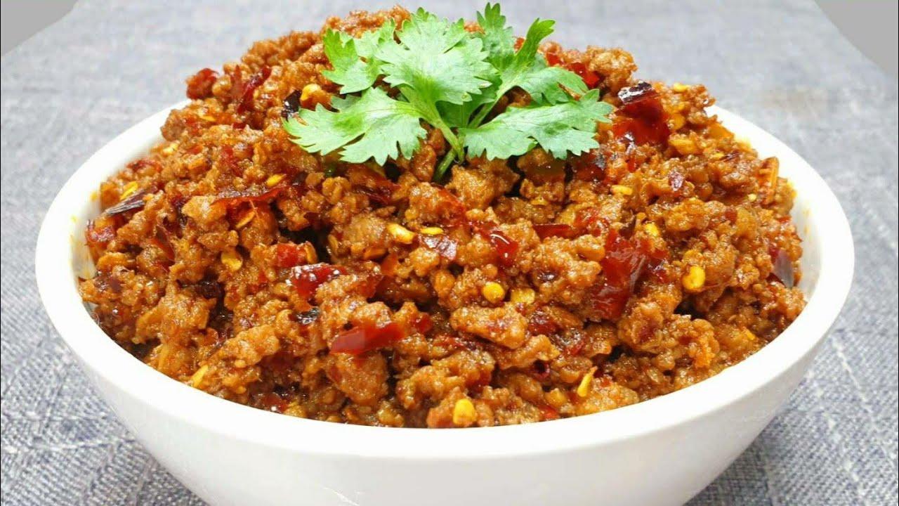 #น้ำพริกข่าหมูสับ สูตรเด็ด อร่อยสุดๆ เก็บได้นาน ทำเเช่ตู้เย็นไว้ประจำบ้าน อร่อยทุกมื้อเเน่นอน