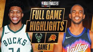 BUCKS at SUNS | FULL GAME 1 NBA FINALS HIGHLIGHTS