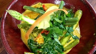 Thai yellow curry con verdure - Thai yellow curry with vegetables