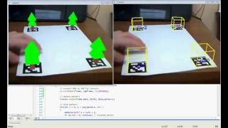 Augmented reality using ARToolkit+ with OpenCV & OpenGL by Tomas Uktveris