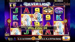 Epic win on Silver Lion Online Slot