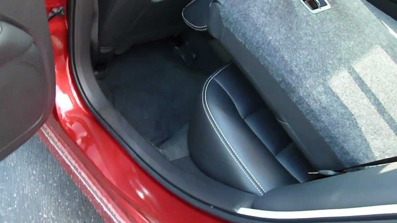 Ford Fusion Trunk Space & Cargo Flexibility